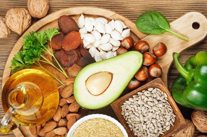 Источники витамина Е