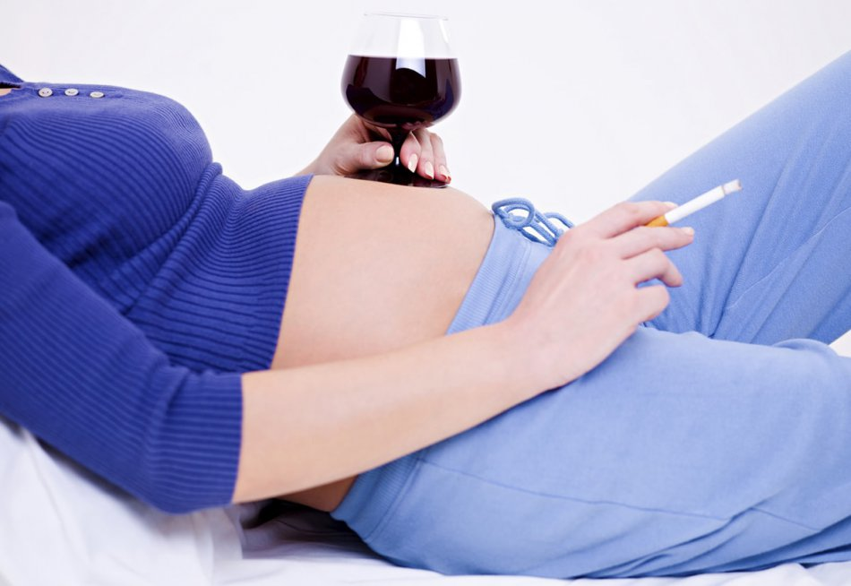 Вредные привычки при беременности