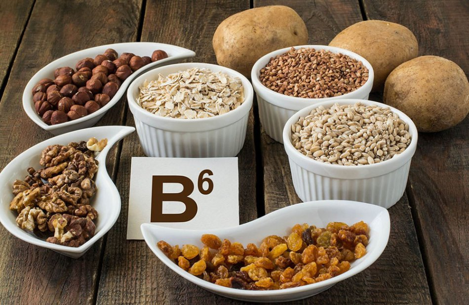 Содержание витамина B6