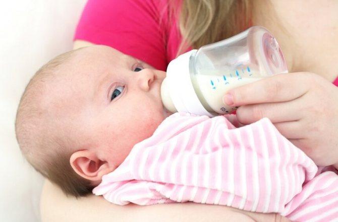 Недостаток материнского молока