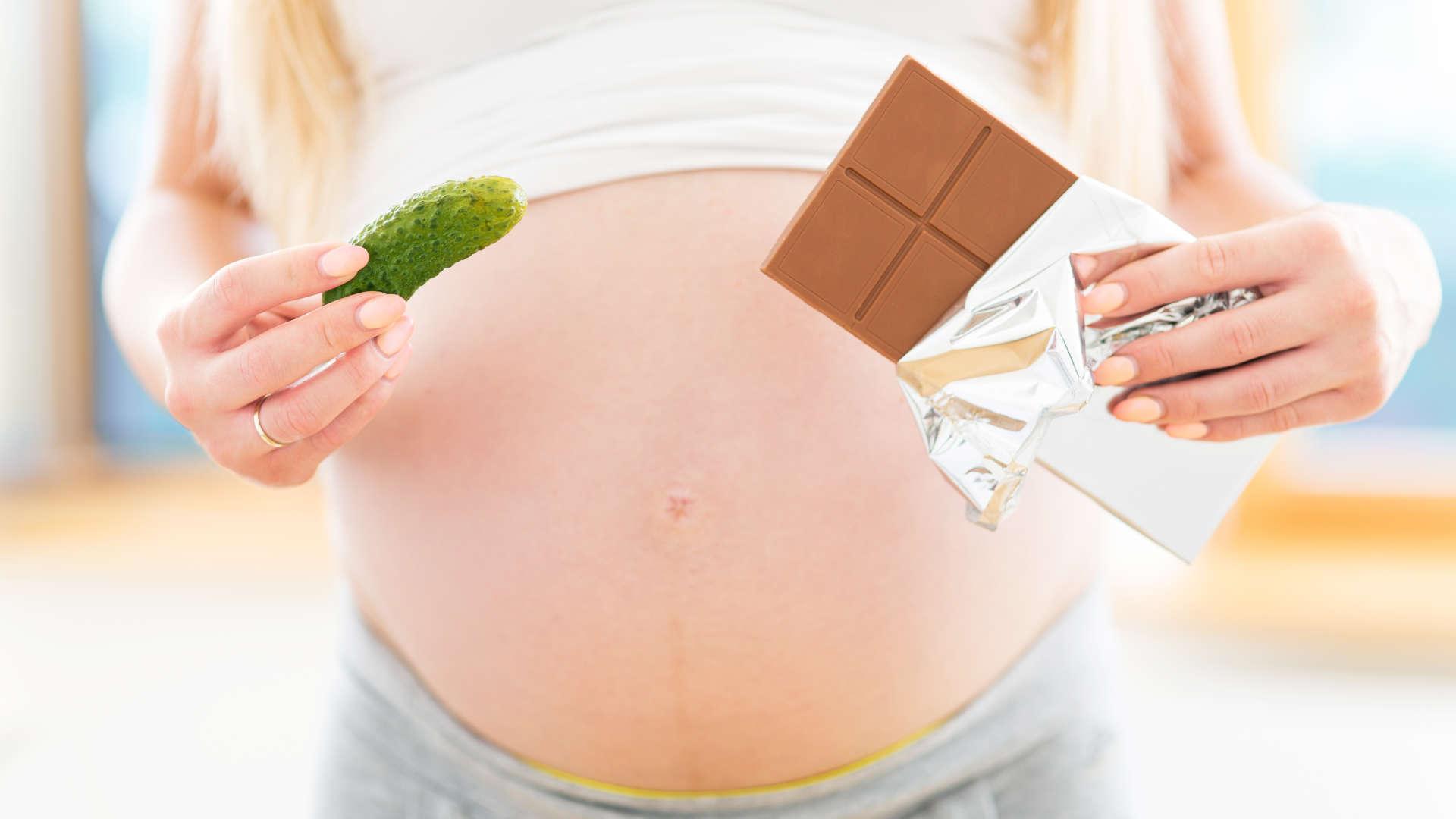 Шоколад для беременных