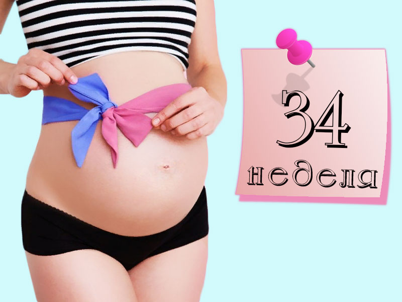 34 неделя