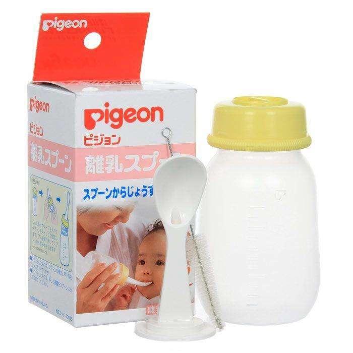 Бутылочка Pigeon с ложкой