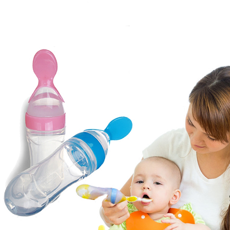 Бутылочка с ложечкой