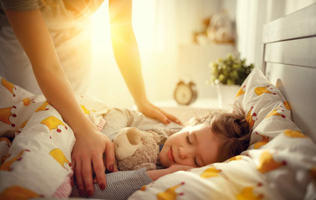 укладываем спать ребенка