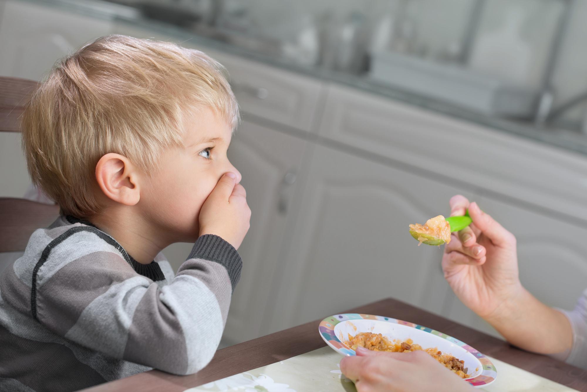 Не нравится еда ребенку