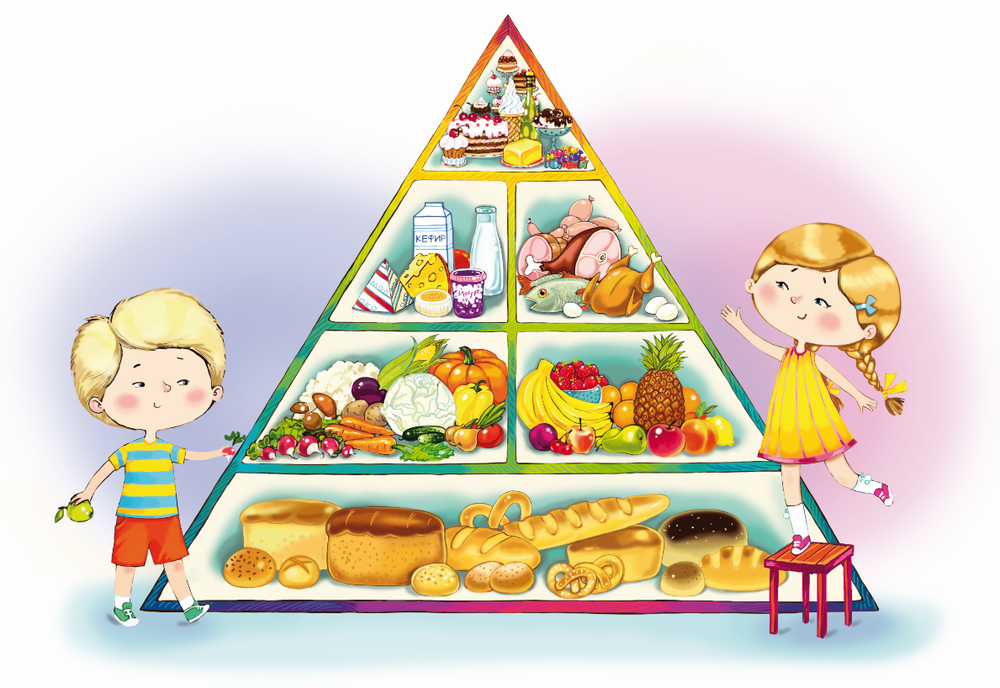 Здоровая пища для ребенка