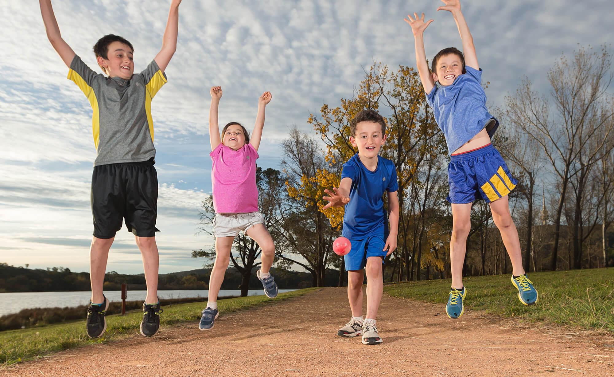Физическая активность у ребенка