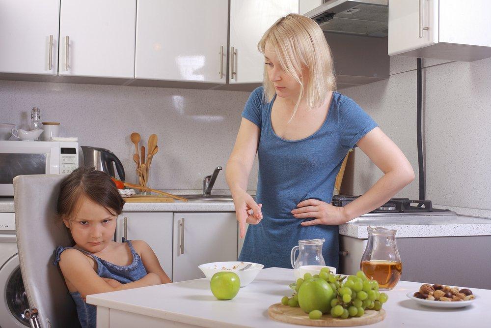 Незаставляйте ребенка доедать до конца