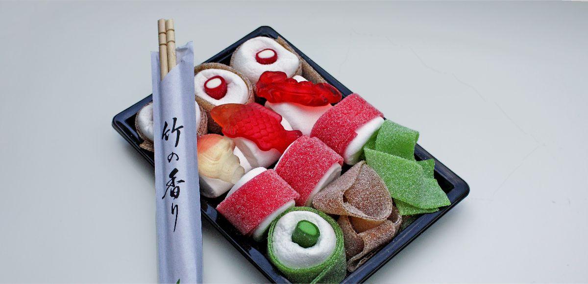 Коробка конфет мармелад для суши
