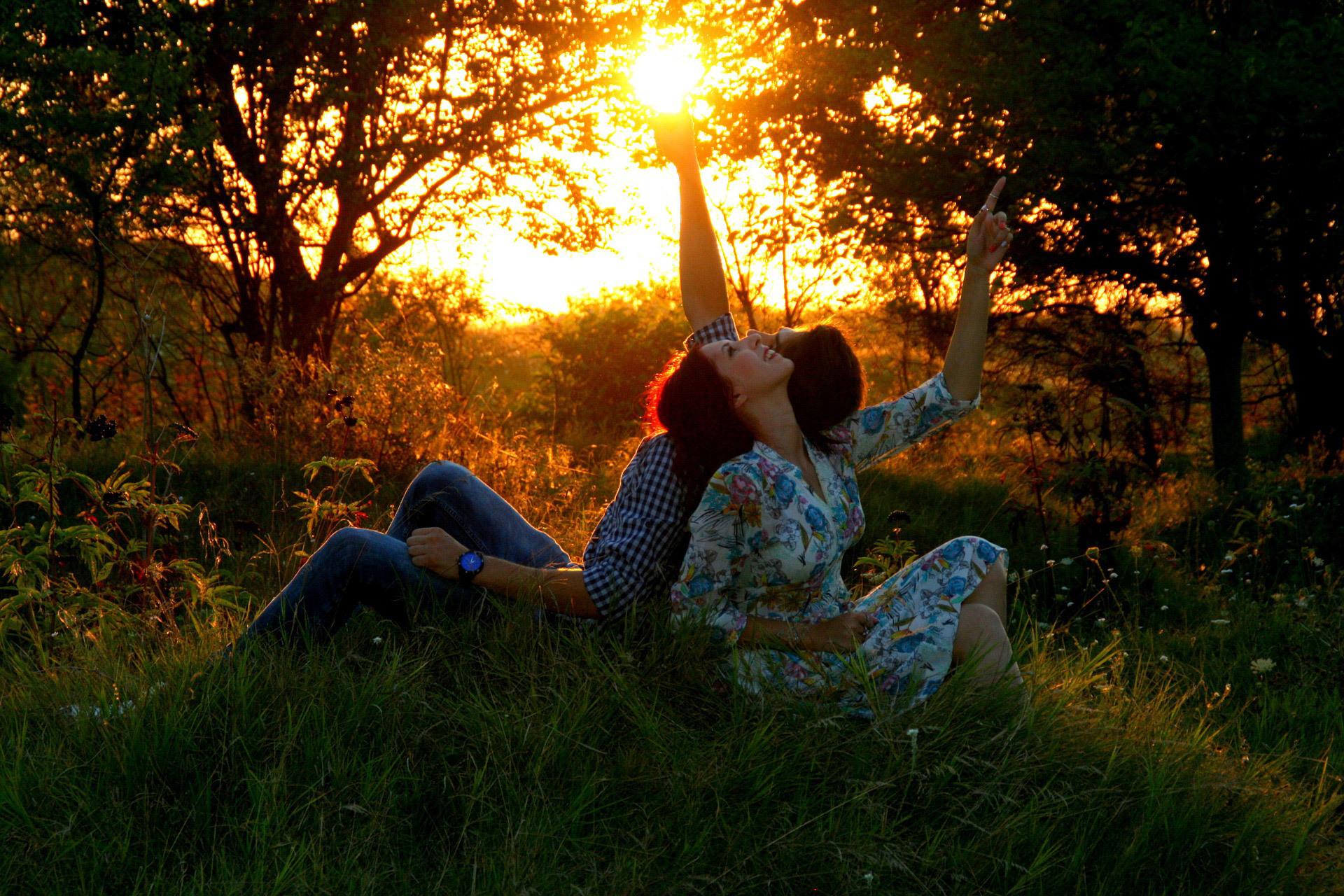 Природа-любящие женщины