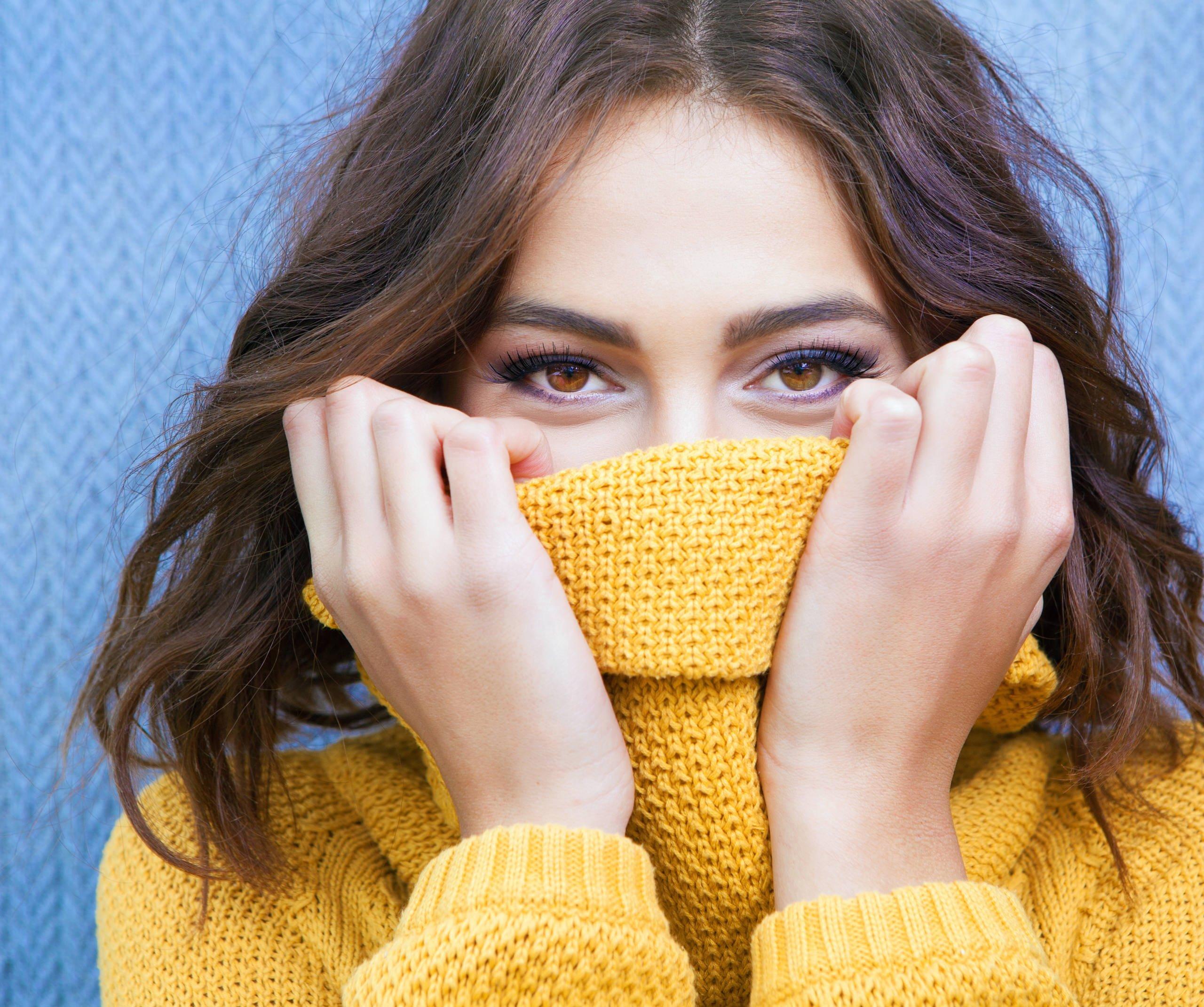 Застенчивые женщины