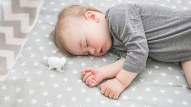 Уложить спать ребенка