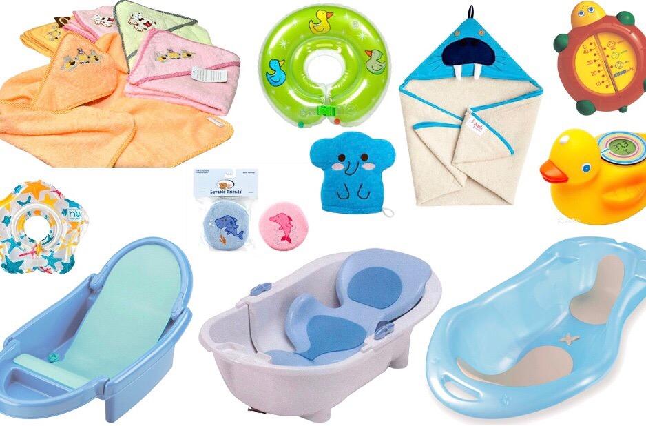 Подготовка к купанию малыша