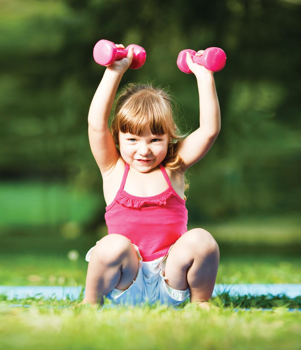 Спорт у ребенка