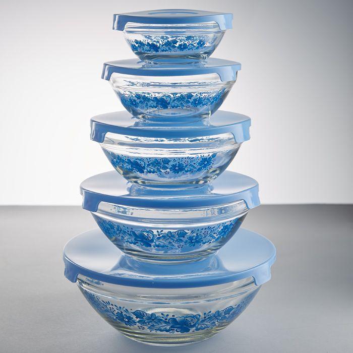 Стеклянная посуда