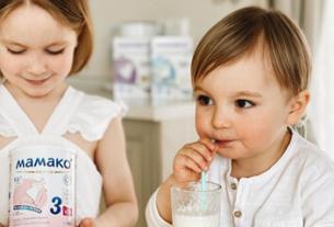 Адаптированные смеси на основе козьего молока